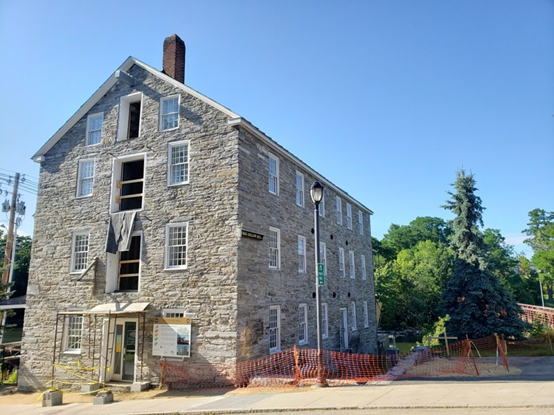 Stone Mill in Middlebury - COURTESY OF COMMUNITY BARN VENTURES