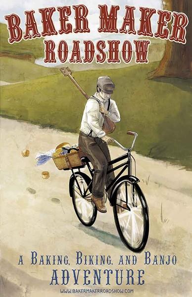"""Poster for the """"Baker Maker Roadshow"""" - COURTESY OF MARTIN PHILIP"""