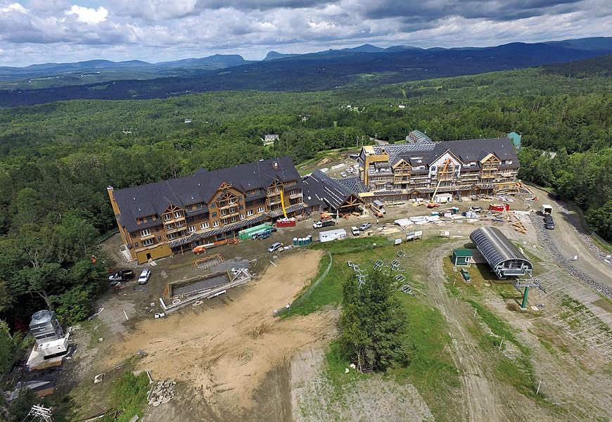 The former Q Burke Mountain Resort - FILE: DON WHIPPLE