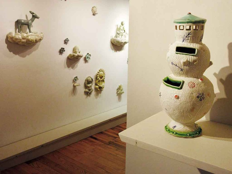 Money bank by Liz Quackenbush - COURTESY OF BIGTOWN GALLERY