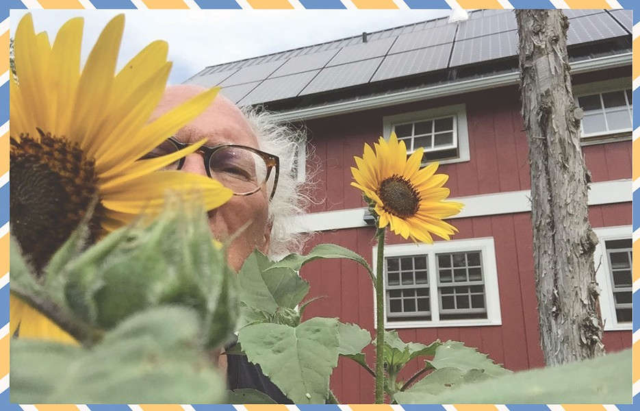 At home in Ferrisburgh - COURTESY OF NANCY STEARNS BERCAW