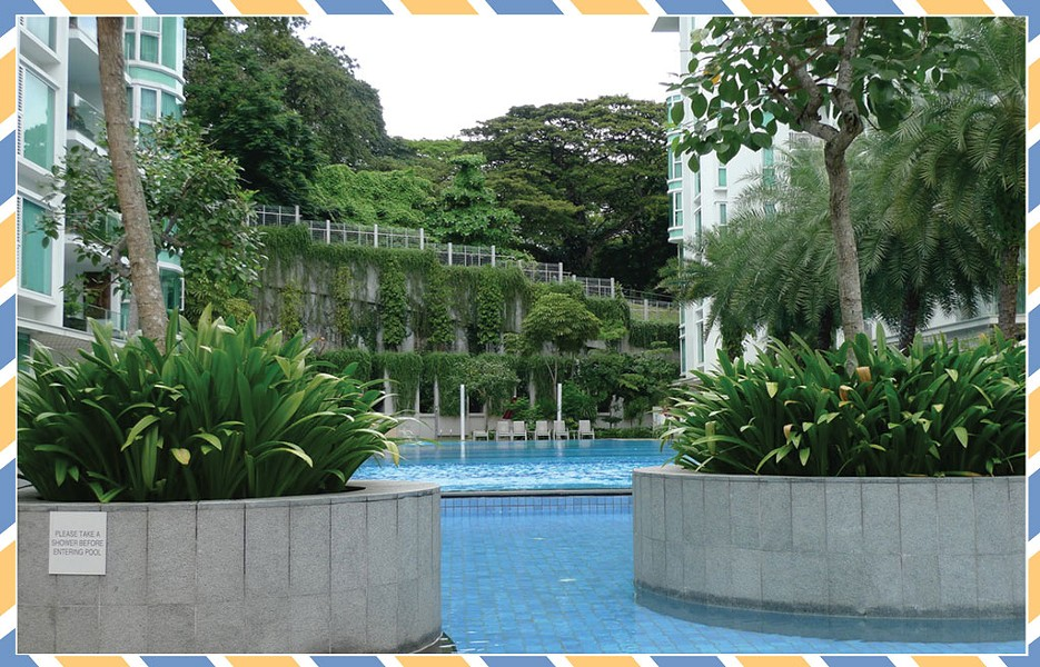 At home in Singapore - COURTESY OF NANCY STEARNS BERCAW