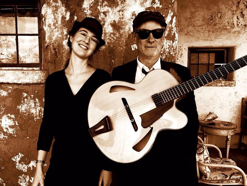 Edda Glass and Max Hatt - COURTESY PHOTO