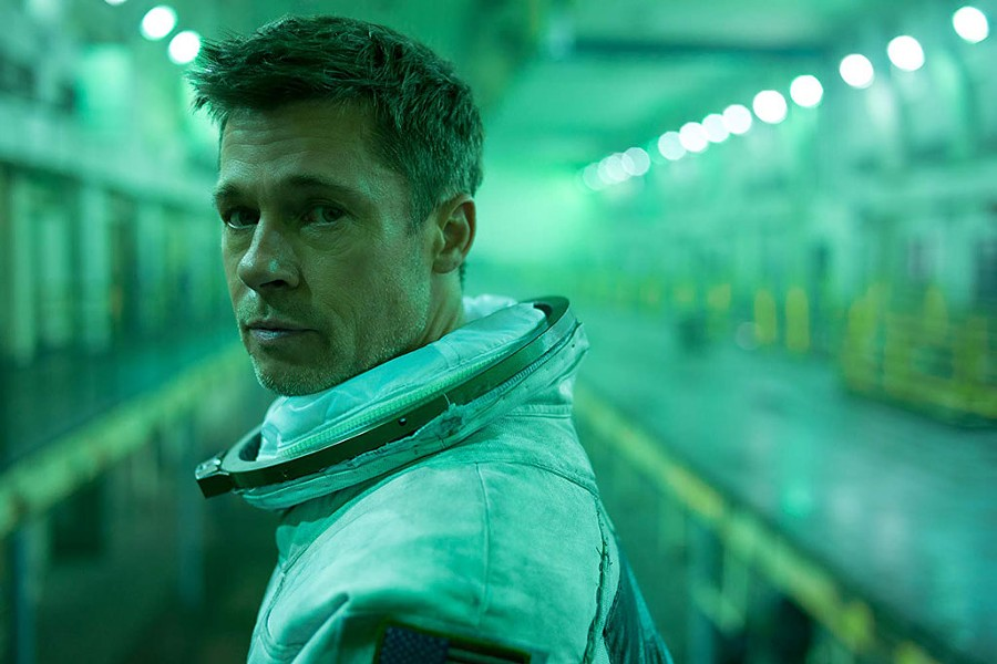 STARMAN Pitt delivers perhaps the most nuanced and inventive performance of his career in the latest from director Gray.
