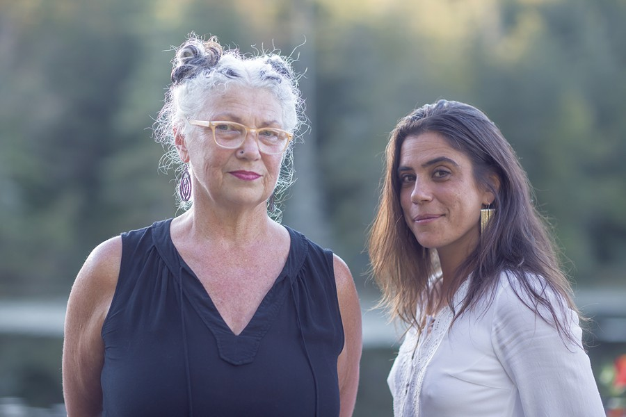 Peg Tassey (left) and Miriam Bernardo - LUKE AWTRY