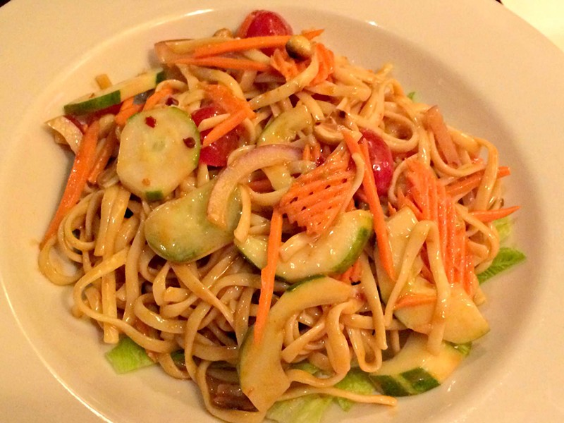 Hearty And Spicy Thai Noodle Salad, $9 - ALICE LEVITT