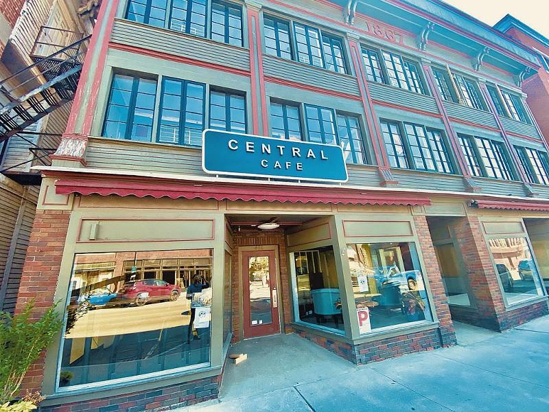 Central Café in St. Johnsbury - COURTESY OF CENTRAL CAFÉ