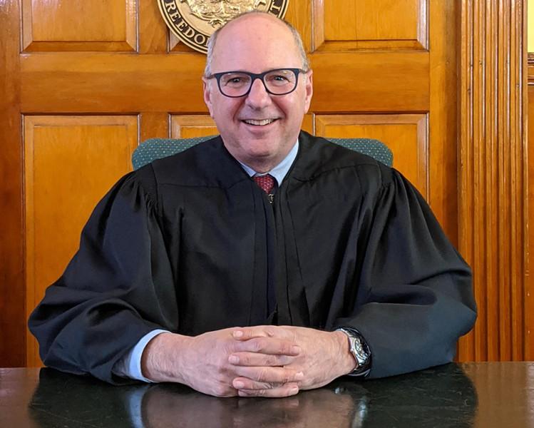 Justice William Cohen - COURTESY OF WILLIAM COHEN
