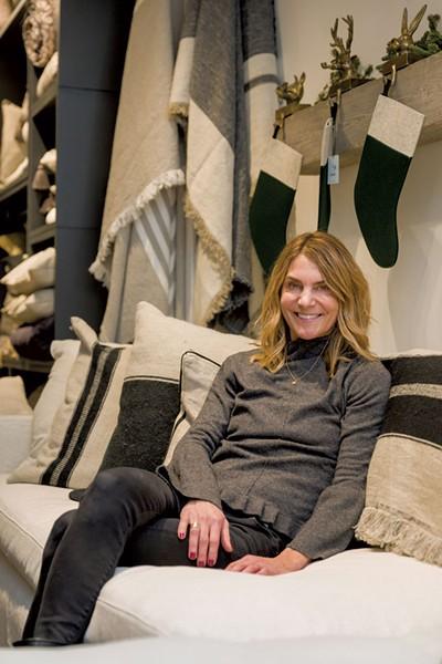 Slate owner Sarah Phaneuf - OLIVER PARINI