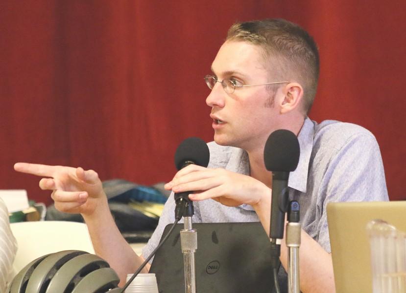 Councilor Max Tracy (P-Ward 2) - FILE: COURTNEY LAMDIN