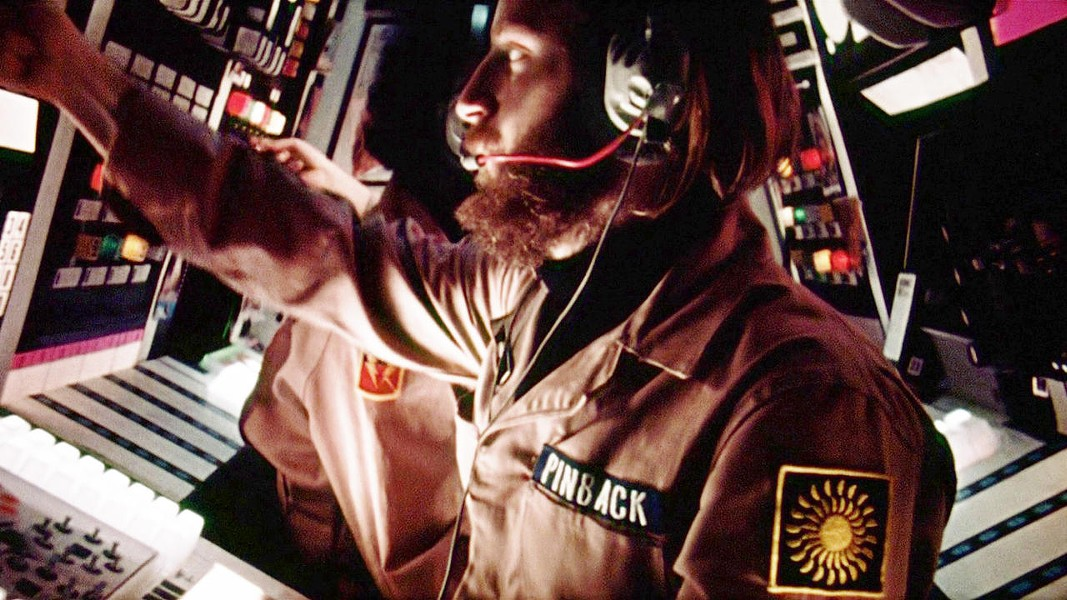Pinback at the controls in Dark Star - BRYANSTON PICTURES / JACK H. HARRIS ENTERPRISES / UNIVERSITY OF SOUTHERN CALIFORNIA