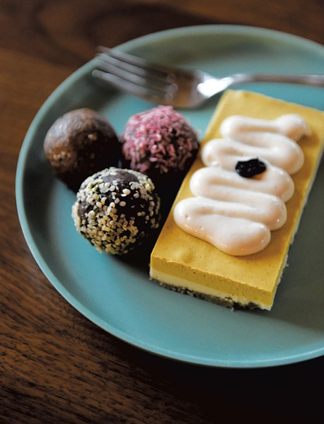 A selection of Nude Food treats - JEB WALLACE-BRODEUR