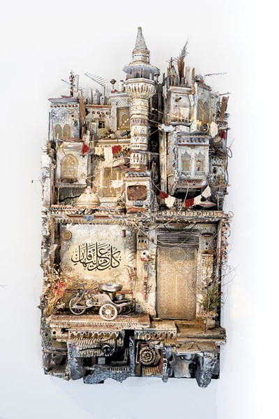 """Hiraeth"" by Mohamad Hafez - COURTESY OF FLEMING MUSEUM"