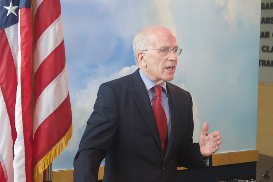 Rep. Peter Welch on Tuesday - DEREK BROUWER