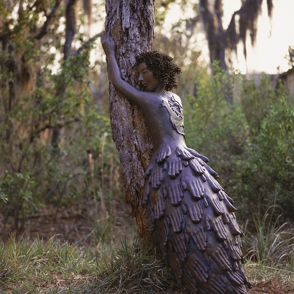 """Pining,"" a sculpture that was decapitated in Seminole, Fla. - COURTESY OF LESLIE FRY"