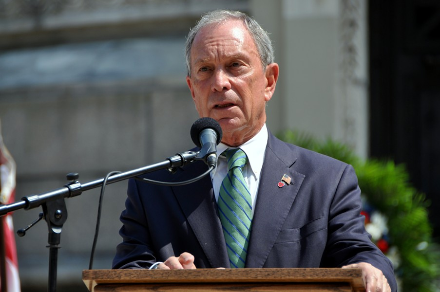 Michael Bloomberg in 2012 - LEI XU | DREAMSTIME.COM