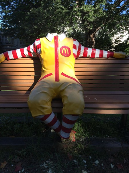 Ronald McDonald - COURTESY: KRISTINE BICKFORD