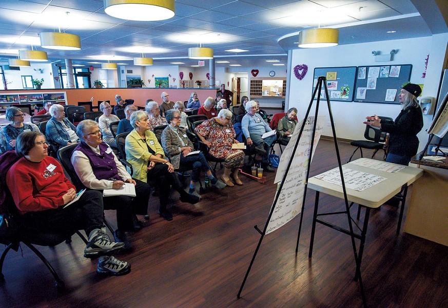 A Helping and Nurturing Diverse Seniors workshop - GLENN RUSSELL