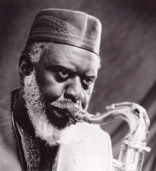 Pharoah Sanders - COURTESY OF BURLINGTON DISCOVER JAZZ FESTIVAL
