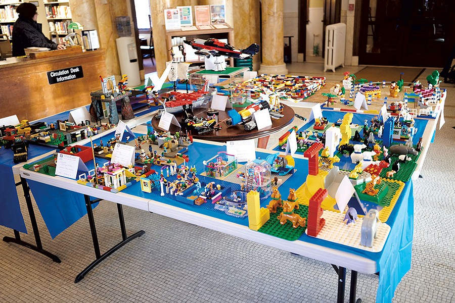 Entries in the Lego competition - BEAR CIERI