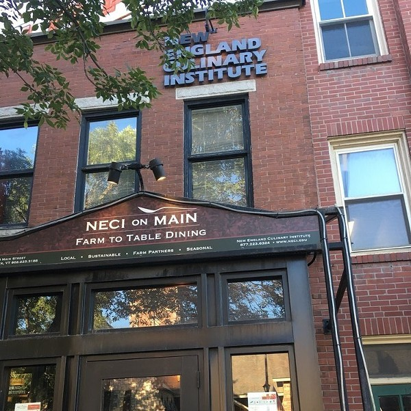 NECI on Main stopped dinner service - COURTESY OF NEW ENGLAND CULINARY INSTITUTE