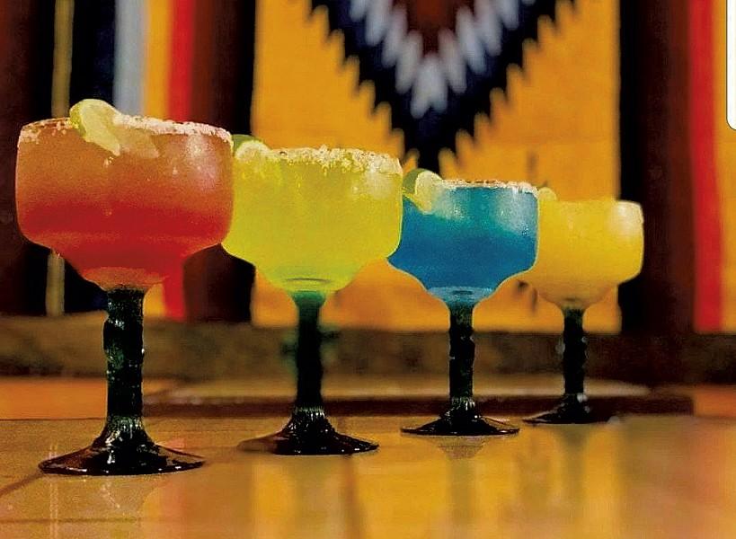 Margaritas at La Casa Loco Bar & Grill - COURTESY OF LA CASA BAR & GRILL