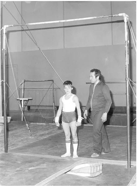 Hruska coaching in Czechoslovakia