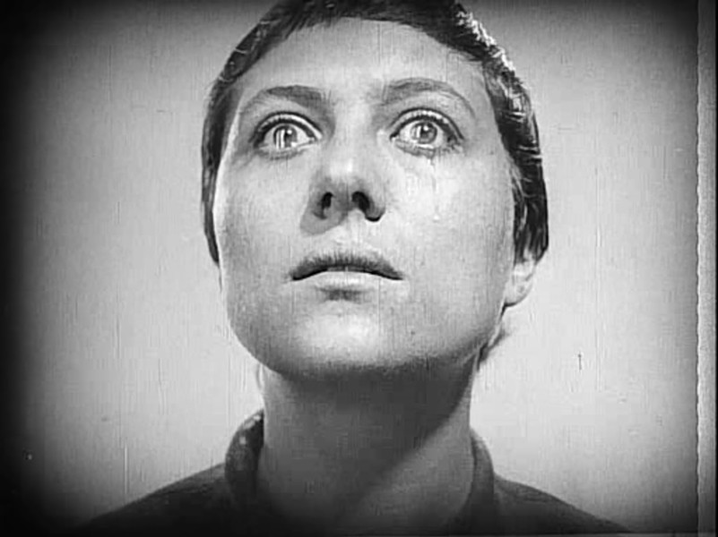 One of the many, many close-ups in The Passion of Joan of Arc - PUBLIC DOMAIN