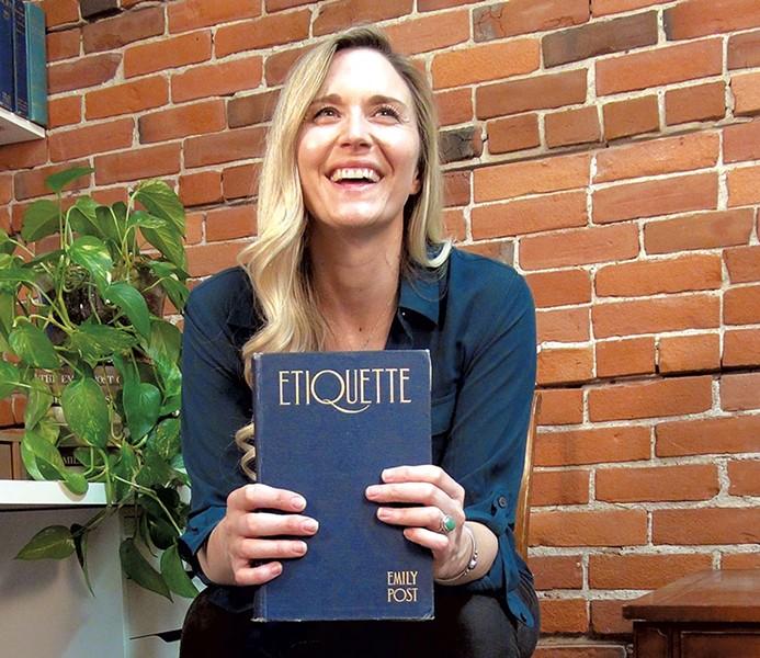 Lizzie Post - COURTESY OF  NADIA HUCKO
