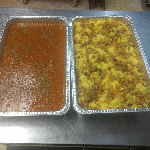 Lentil soup and saffron rice - COURTESY OF LITTLE MOROCCO