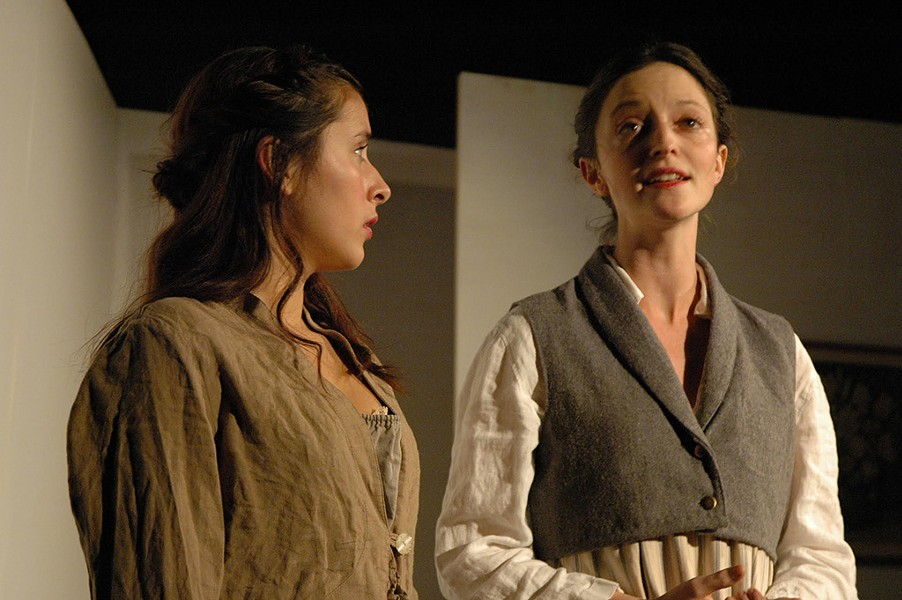 Esse Luna (left) as Claire and Anna May Sisk as Mary - COURTESY OF EMER POND FEENEY