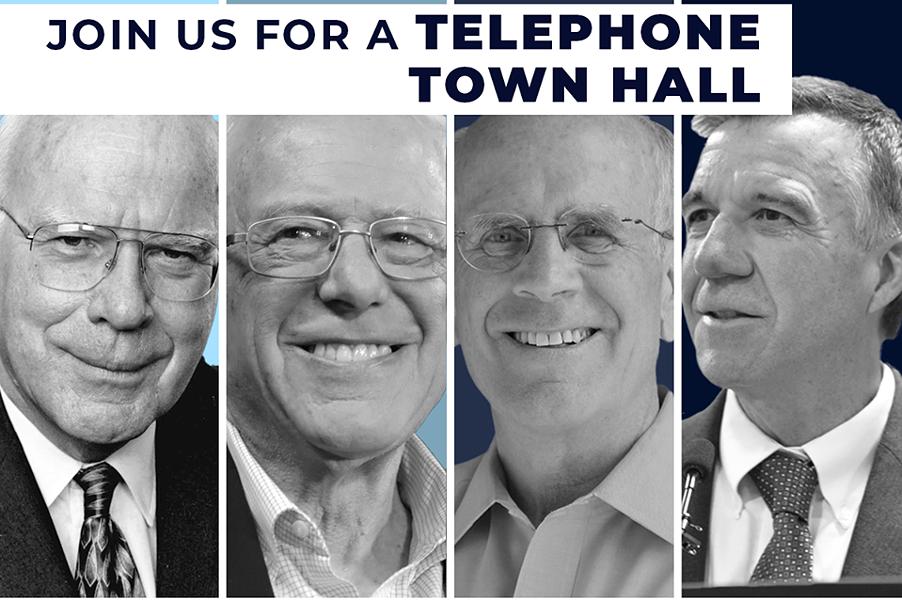 A flier advertising the event from Sen. Bernie Sanders' Facebook page - SCREENSHOT