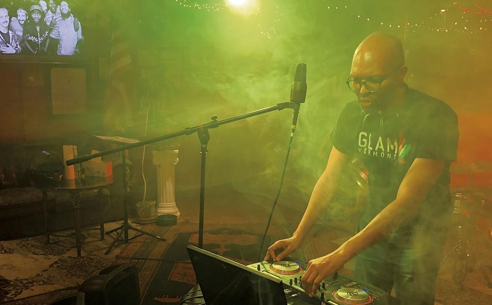 Craig Mitchell livestreaming with Big Heavy World - COURTESY OF JIM LOCKRIDGE