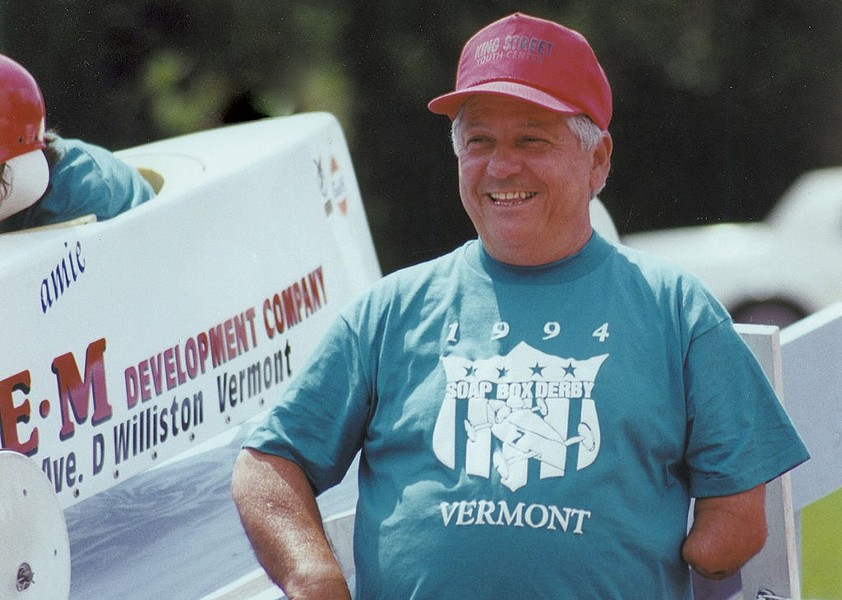 Bobby Miller at the 1994 Soapbox Derby - COURTESY OF STEPHANIE MILLER TAYLOR