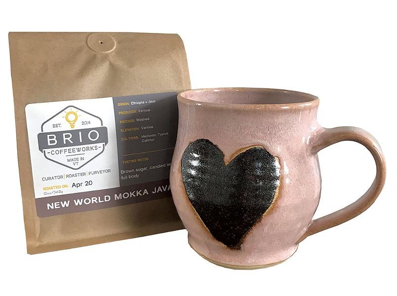 Coffee and a mug - COURTESY