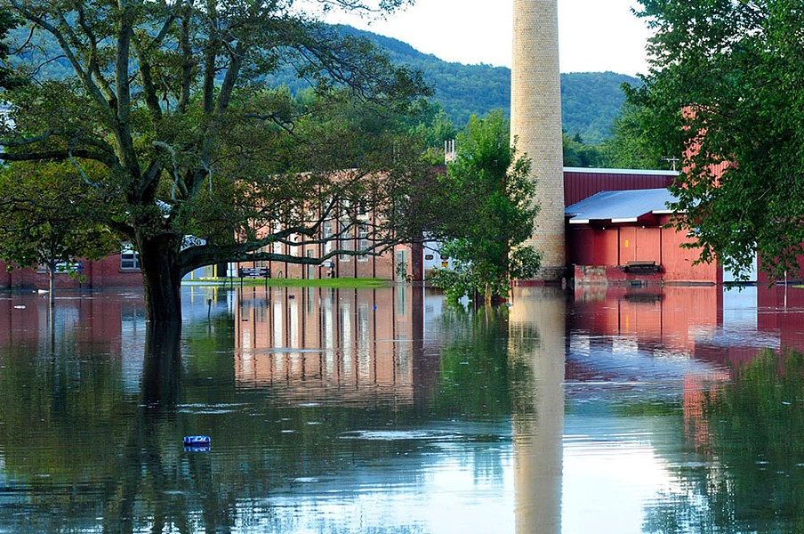 Flooding at the Waterbury Complex after Tropical Storm Irene - FILE: JEB WALLACE-BRODEUR