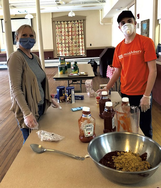 Charter House volunteer cooks - COURTESY OF CHARTER HOUSE