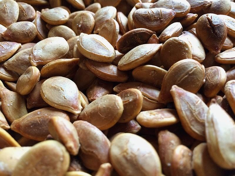 Toasted pumpkin seeds - HANNAH PALMER EGAN