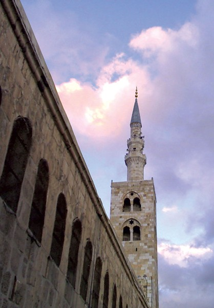 The Minaret of Jesus at the Umayyad Mosque in Damascus - DEBORAH HARTE FELMETH