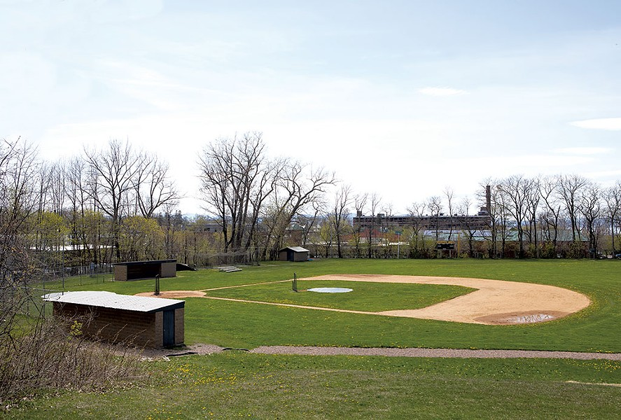 Baseball field at Calahan Park in Burlington - LUKE AWTRY
