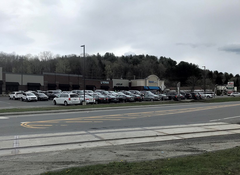 Rental cars by the Barre-Montpelier Road in central Vermont - COURTESY OF SCOTT BASCOM