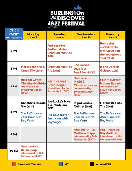 COURTESY OF BURLINGTON DISCOVER JAZZ FESTIVAL
