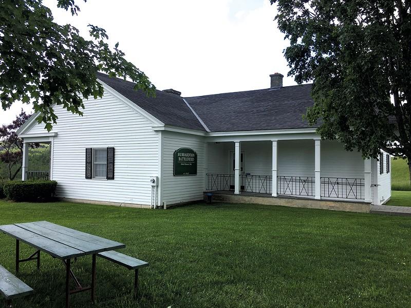 House at Hubbardton Battlefield Historic Site - PAMELA POLSTON