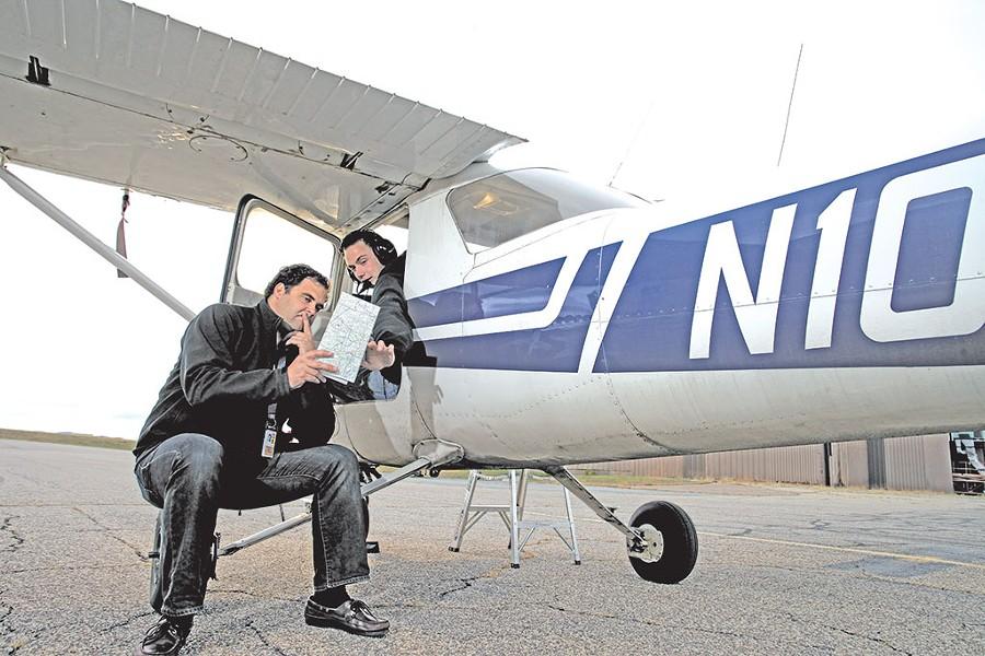 Flight instructor Ben Higgins - MATTHEW THORSEN