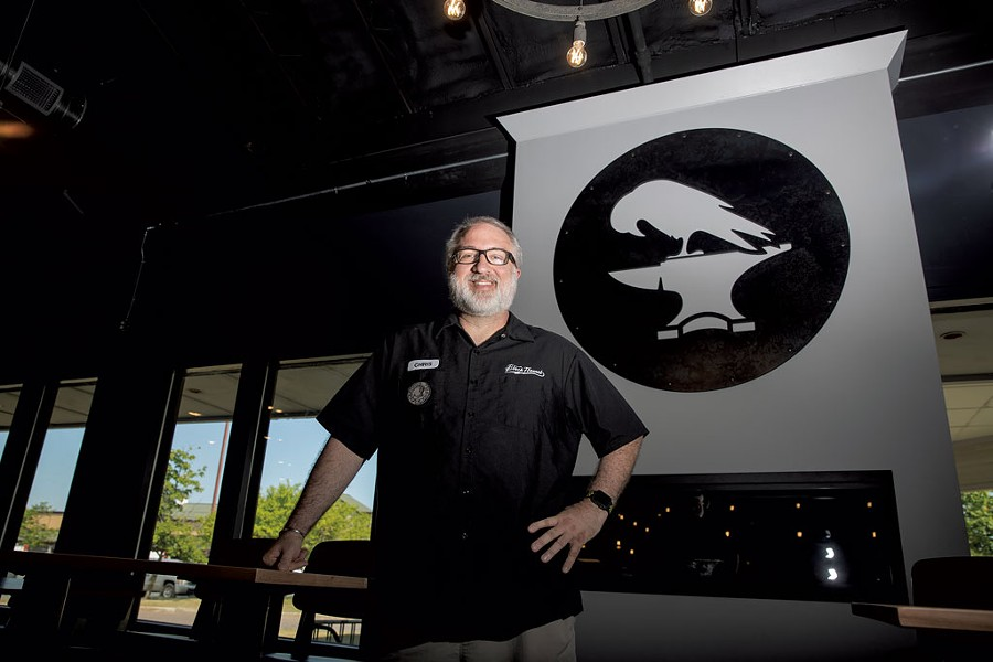 Chris Kesler of Black Flannel Brewing - JAMES BUCK