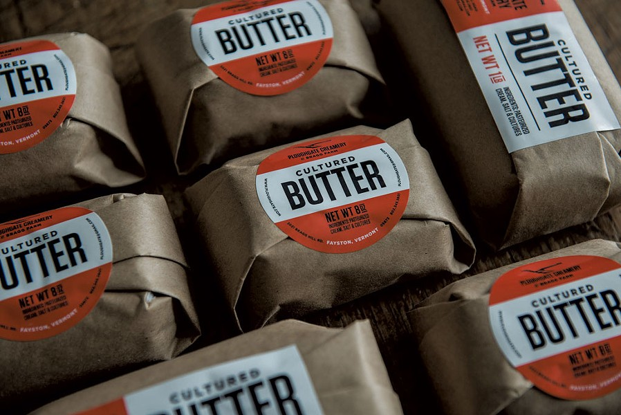 Ploughgate Creamery butter - COURTESY OF THE AGENCY OF AGRICULTURE, FOOD AND MARKETS
