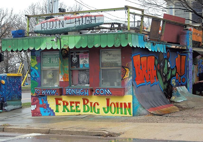Ridin' High skate shop - FILE: MATTHEW ROY