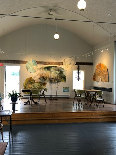 The Kraemer & Kin tasting room at GreenTARA Space - COURTESY OF KRAEMER & KIN