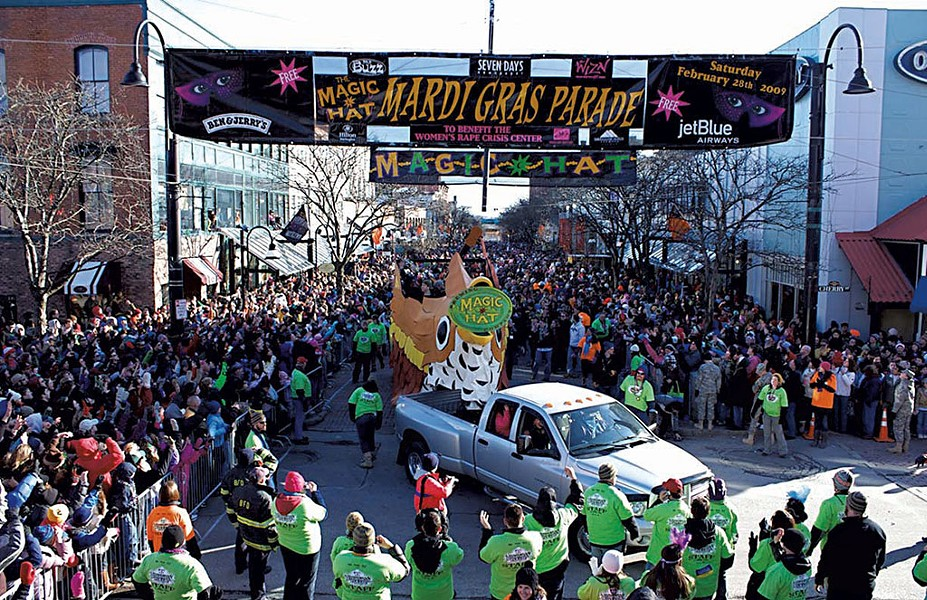 Magic Hat Mardi Gras parade - COURTESY
