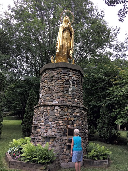 Our Lady of Lourdes at St. Anne's Shrine - PAULA ROUTLY